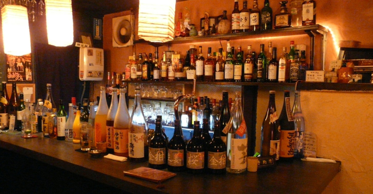 お寺 bar